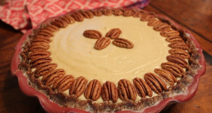 Meyer Lemon Maple Pecan Pie