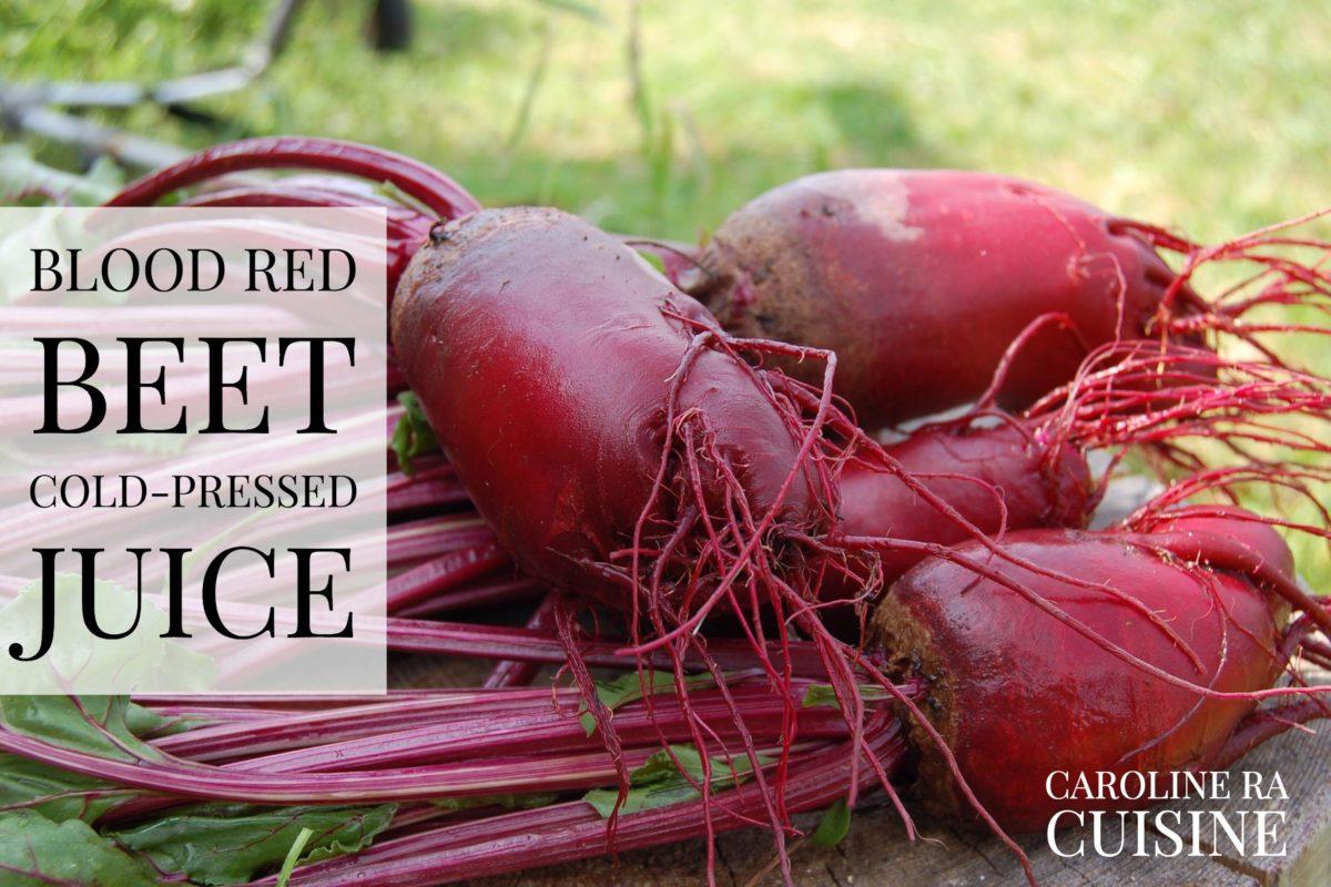 Blood Red Beet Cold-Pressed Juice