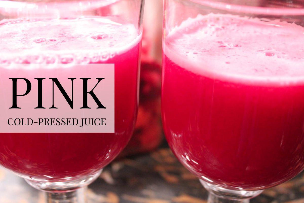 Pink Cold-Pressed Juice