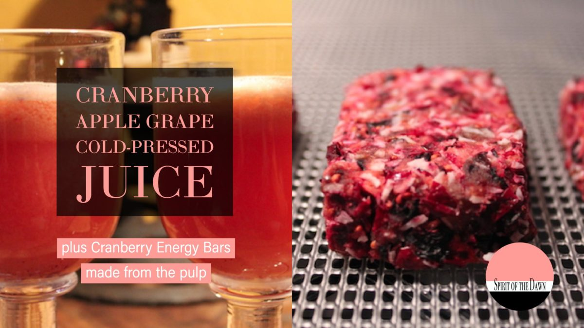 Cranberry Apple Grape Cold-Pressed Juice