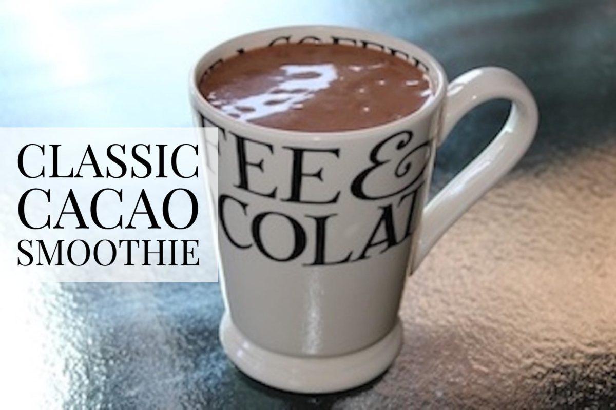 Classic Cacao Smoothie