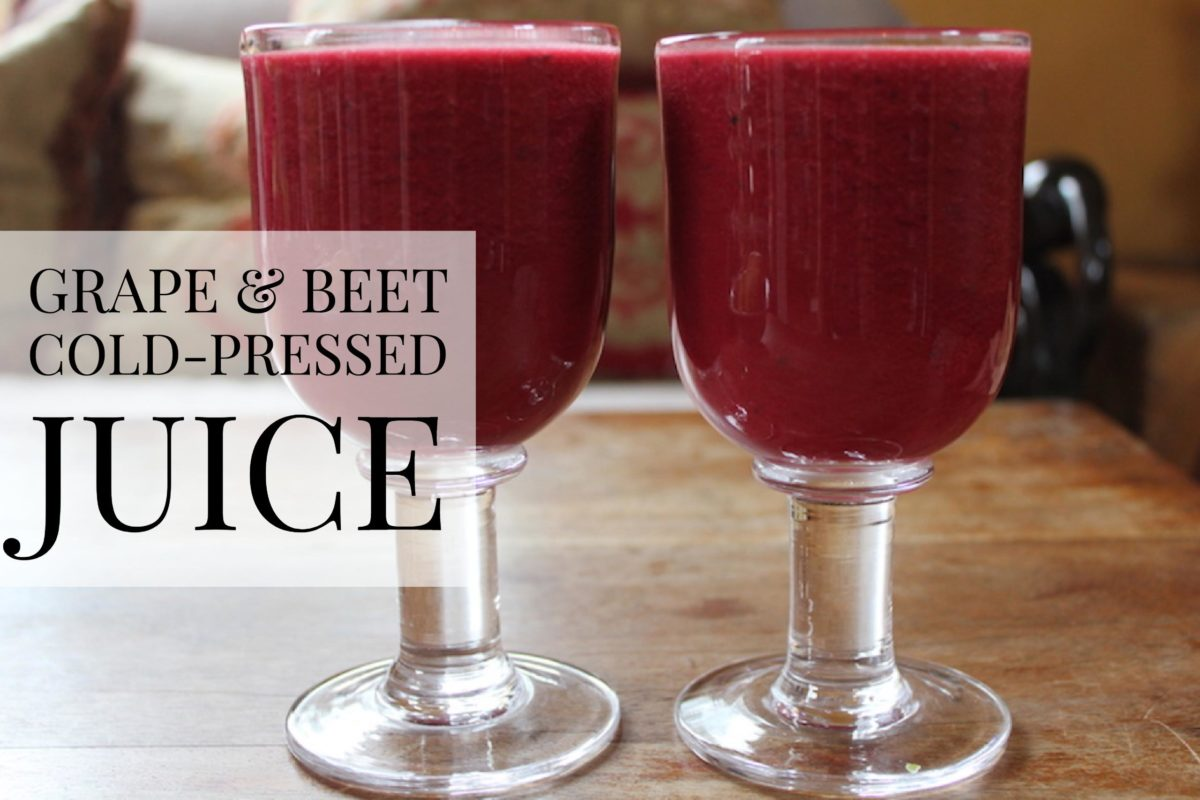Grape & Beet Cold-Pressed Juice