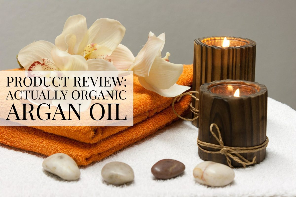 Product Review: Actually Organic Argan OIl