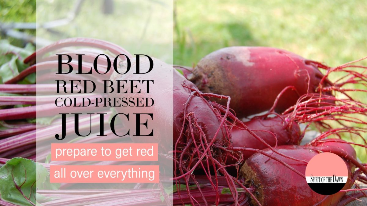 Blood Red Beet Cold-Pressed Juice